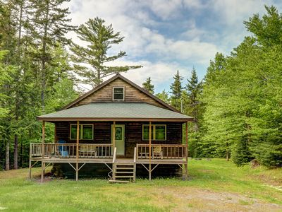 Photo for Cozy cabin in the woods close to Moosehead Lake, w/snowmobile trail access