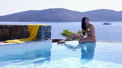 Photo for Luxury villa with private pool only 30m from the sea