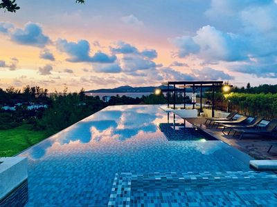 Photo for 6Av 705 - Luxury condo in Surin beach, rooftop bar, pool and gym