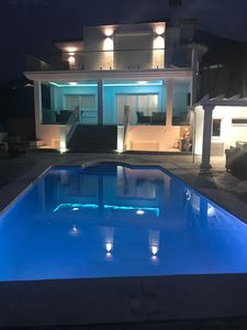 Photo for Luxury Private Villa Vetori with Heated Swimming Pool, 6 Bedrooms, Bar, Fire pit