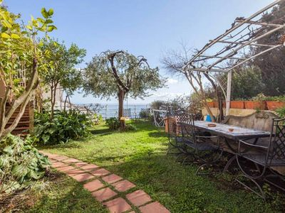 Photo for CASA MIA - private garden and parking, shared pool - Positano