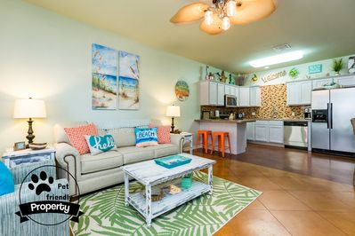 Great space for enjoying time with family and frineds