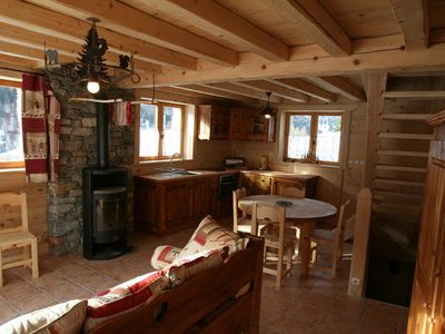 Photo for CHALET SAVOYARD located in a village