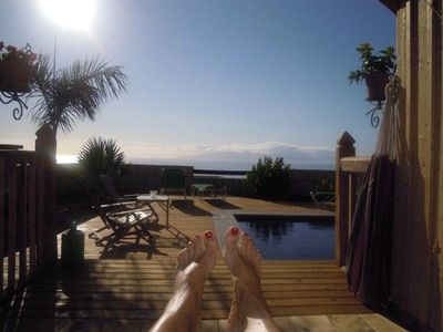 Photo for Finca m. fantastic sea view for lovers and peace seekers, heated pool