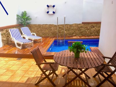 Photo for House with private pool in the center of Palamós