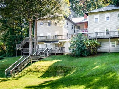 Photo for Authentic 15BR/14BA Providence Lodge w/ Deck - Short Walk to Lake Junaluska