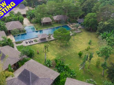 Photo for Serenity River Estate, 10 Bedroom Villa, feature pool and gardens, chef, Canggu