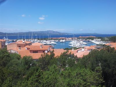 Photo for Penthouse in the center of Porto Rotondo with a sea view