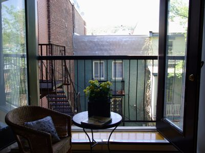 Photo for Chic Bohemian Loft With View Of Mt Royal-In The Heart Of Trendy Plateau Mt-Royal