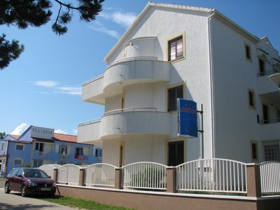 Photo for Apartment in Privlaka (Zadar), capacity 2+2