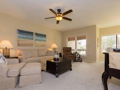 Photo for A Beautiful 2 Bed/2 Bath Shelter Cove Villa Overlooking Lagoon