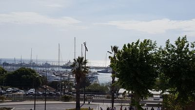 Photo for Holiday rental Antibes -3 rooms - View Sea- Port