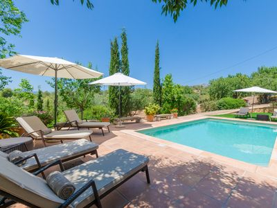 Photo for Es Garroveral 3 - quiet villa at the foot of the Tramuntana, for 6 guests