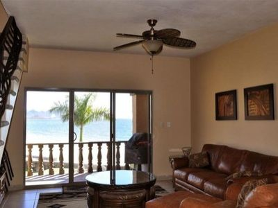 Photo for Beautifully Furnished Beach Front Gold Zone.  Gated Community With Pool.