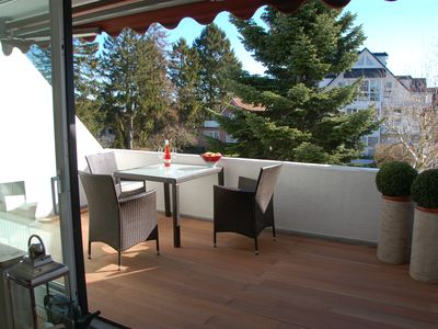 Photo for Stylish apartment with gr. Sunny balcony central at the spa park, incl. underground car park