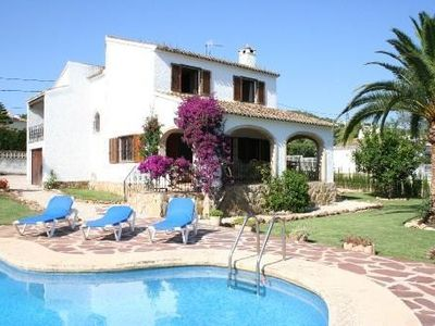 Photo for Villa in Javea (Costa Blanca) - 5 min to the beach