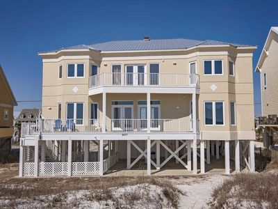 Photo for 6 BR ~ Gulf Front ~ Sleeps up to 16 ~ Sunrise Beach House Gulf Shores