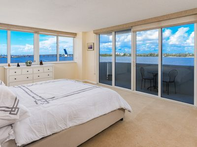Photo for Palm Beach 2BD/2BA Condo Spacious Contemporary 2 Balcony Spectacular Water Views