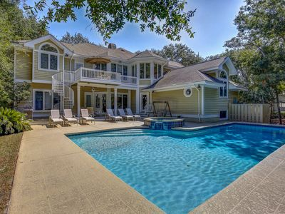 Photo for 3 Junket - Beautiful 2nd Row Ocean Palmetto Dunes Home