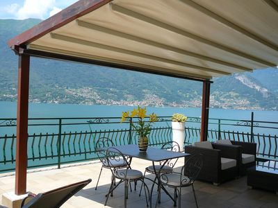 Photo for Romantic House - lake view with terrace of 40 sqm