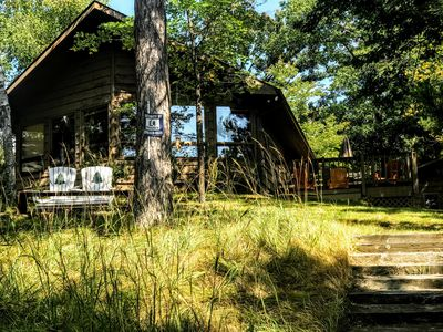 Photo for STARDUST CABIN Quiet Northwoods Lake Cabin for lasting summer vacation memories