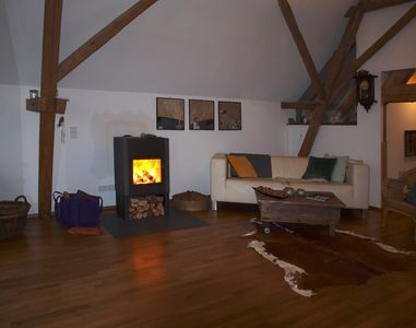 Photo for Quiet, luxurious and large apartment in the countryside in ehem. barn