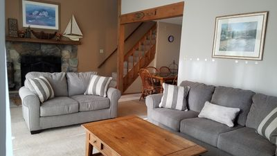 Photo for $225/ Night Special! Great weekend  getaway! 10 Min to Ski Slopes, Free Wi-Fi,