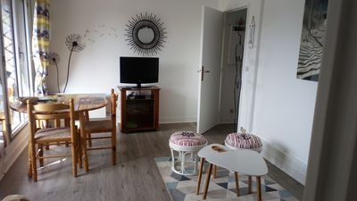 Photo for Charming 2 rooms in Houlgate close to the sea