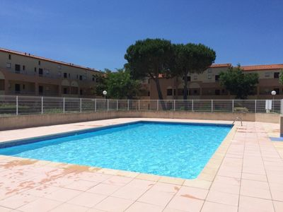 Photo for Studio cabin with pool  in Saint Cyprien Beach Les Capellans  4 people