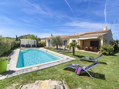 Photo for GRIGNAN DROME SOUTH limit Provence Alpes Cote d'Azur. Private pool & air conditioning 6 per