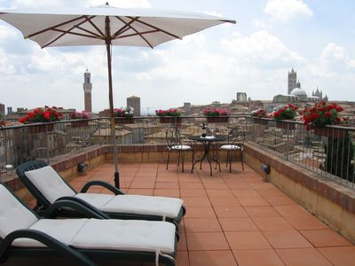 Photo for 'Tuscanflat,SienaVistas' in Siena City with spectacular terraces on all old city
