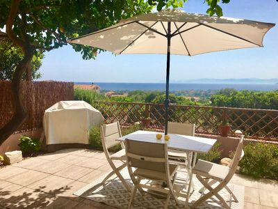 Photo for Vacation home with a spectacular view and gas BBQ!!
