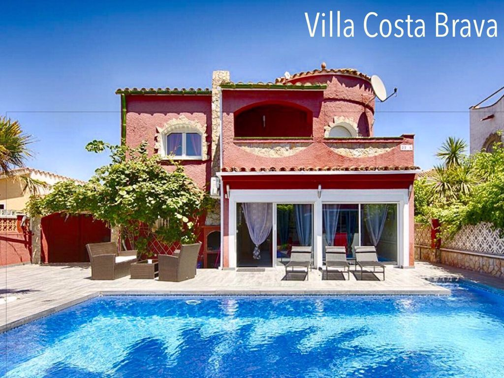 Location Vacances Villa Empuriabrava: Villa Costa Brava