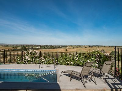 Photo for Hidden Acre Vineyard--Glorious Views and Privacy in Hilltop Vineyard Setting
