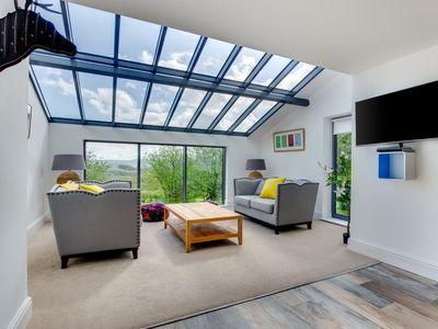 Photo for Stylish and contemporary Lodge that was lovingly restored from an old barn. Located in the Usk Valle