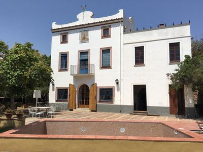 Photo for Masia Can Miquel. 6 bedroom house with pool and barbecue.