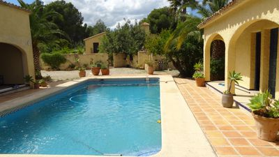 Photo for Finca for 6 people with large private pool in a quiet location, totally private