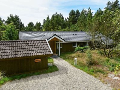 Photo for Gorgeous Holiday Home in Nørre Nebel with Jacuzzi