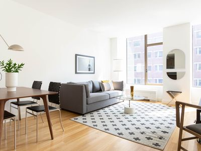 Photo for Sonder | Hanover Square | Airy 1BR + Rooftop
