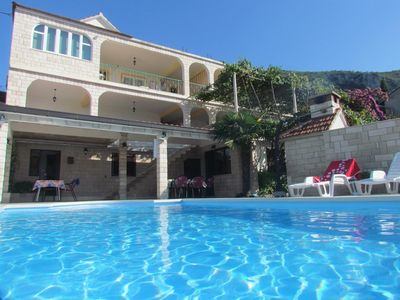 Photo for 4BR Apartment Vacation Rental in Trpanj