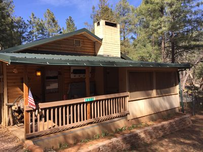 Photo for Private Darling Cozy Cabin in The Tonto National Forest