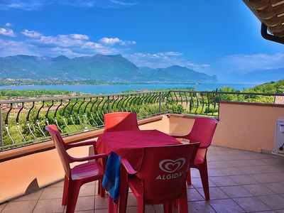 Photo for quiet, beautiful, lake view, central position, pool bar, restaurant, parking