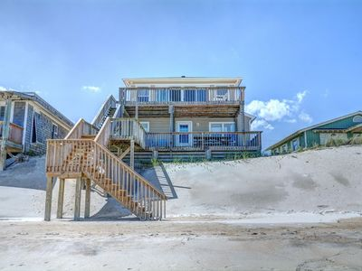Photo for Luna Escape: 4BR/2.5BA Oceanfront 1 mile north of downtown Surf City, Sleeps 8