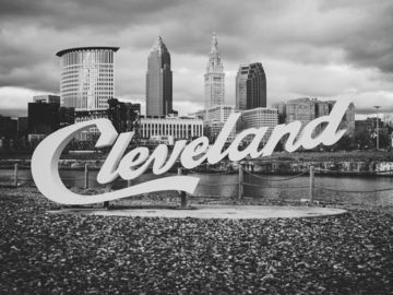 Cleveland Lakefront State Park, Cleveland, OH, USA