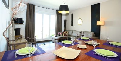 Photo for Apartment 1.4 km from the center of Lyon with Lift, Parking, Terrace (675674)