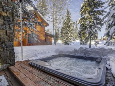 Photo for Pet Friendly Tamarack Resort Cottage w/ Outdoor Hot Tub, BBQ, Mountain Views