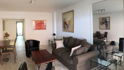 Photo for Large two rooms, high floor with sea view in Juan les pins