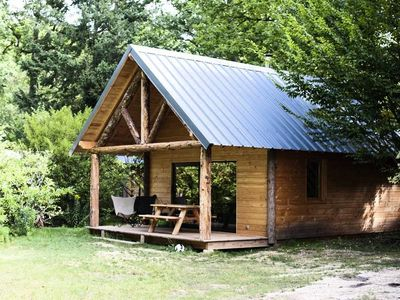 Photo for Camping Huttopia Senonches *** - 3 Rooms Cabin 4/6 People