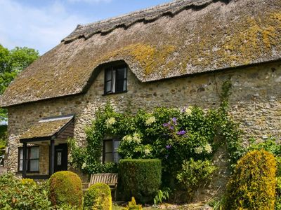 Photo for Character 3 bed thatched cottage within the Blackdown Hills and near the Jurassic Coast, takes 4 dog