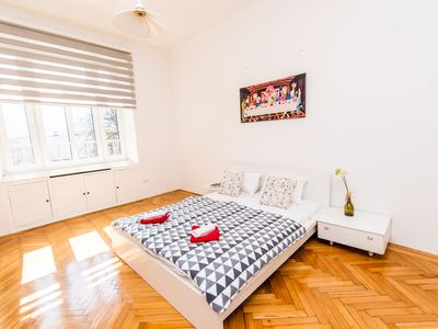 Photo for 2BDR Apartment with the Balcony View-BEST LOCATION